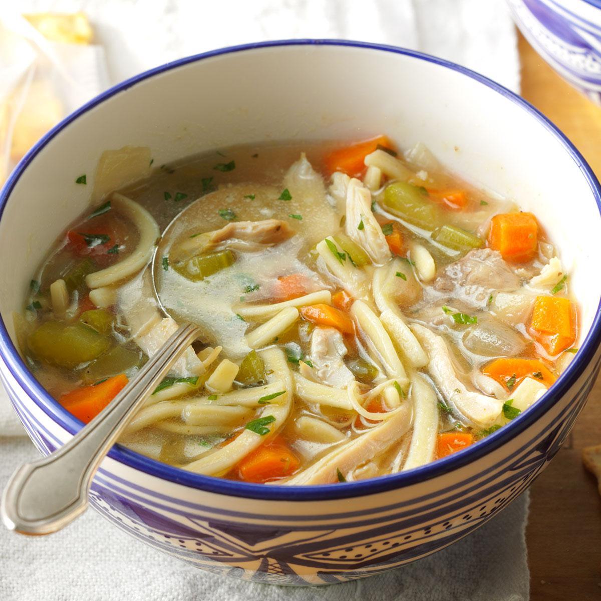 Chicken Noodles Soup Pakistani Food Recipe
