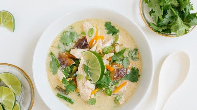 Thai Chicken Soup Pakistani Food Recipe