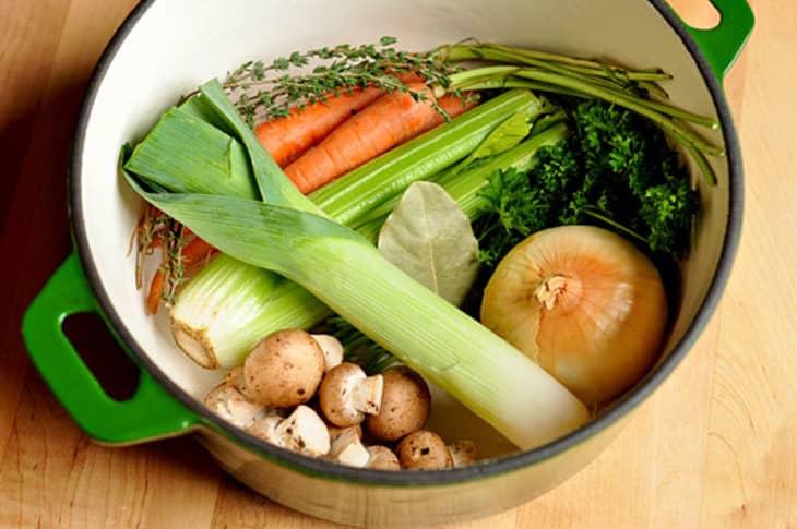 How To Make Vegetable Stock Pakistani Food Recipe