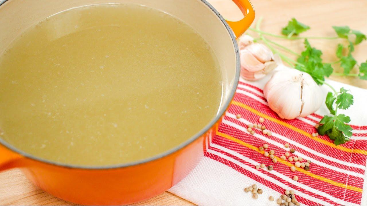 How To Make Chicken Stock (Broth) Pakistani Food Recipe