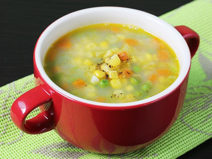 Sweet Corn Soup Pakistani Food Recipe