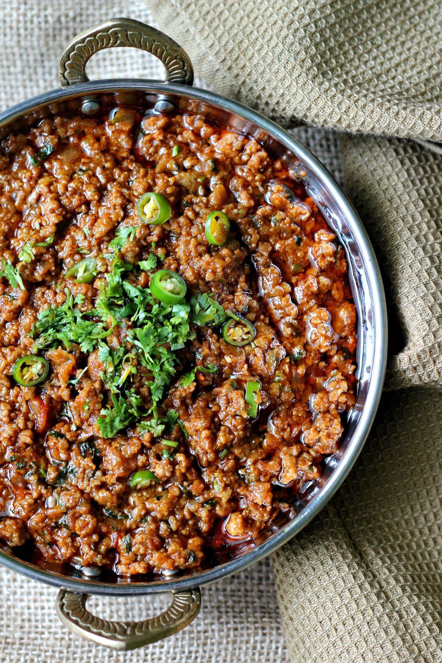 Tasty Bhuna Keema Pakistani Food Recipe