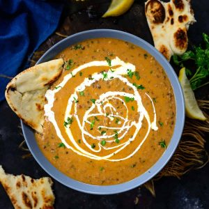 Homemade Creamy Dal Makhani Pakistani Food Recipe