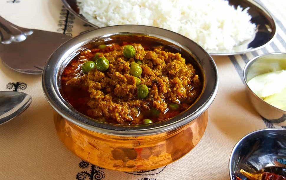 Keema Matar (Mince With Peas) Pakistani Food Recipe: