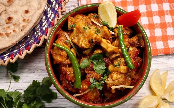 Chicken Tikka Karahi (Bawarchi Style) Pakistani Food Recipe