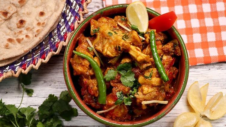 Chicken Tikka Karahi (Bawarchi Style) Pakistani Food Recipe