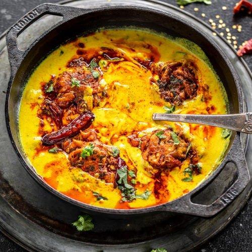 Punjabi Kadhi Pakora Pakistani Food Recipe