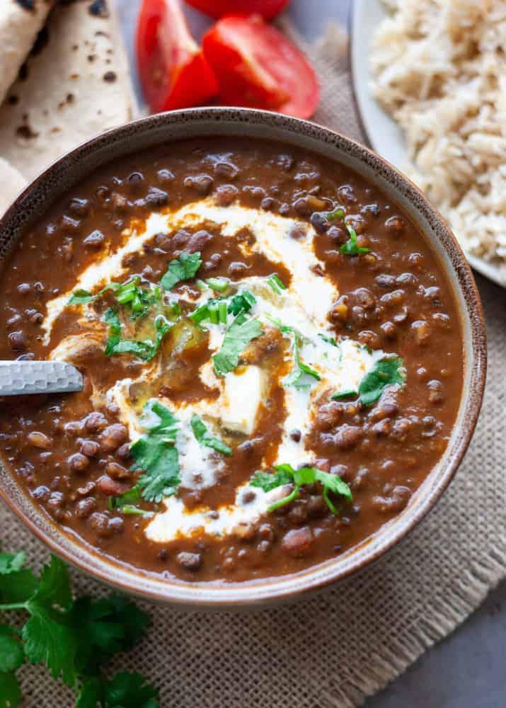 Homemade Creamy Dal Makhani Pakistani Food Recipe