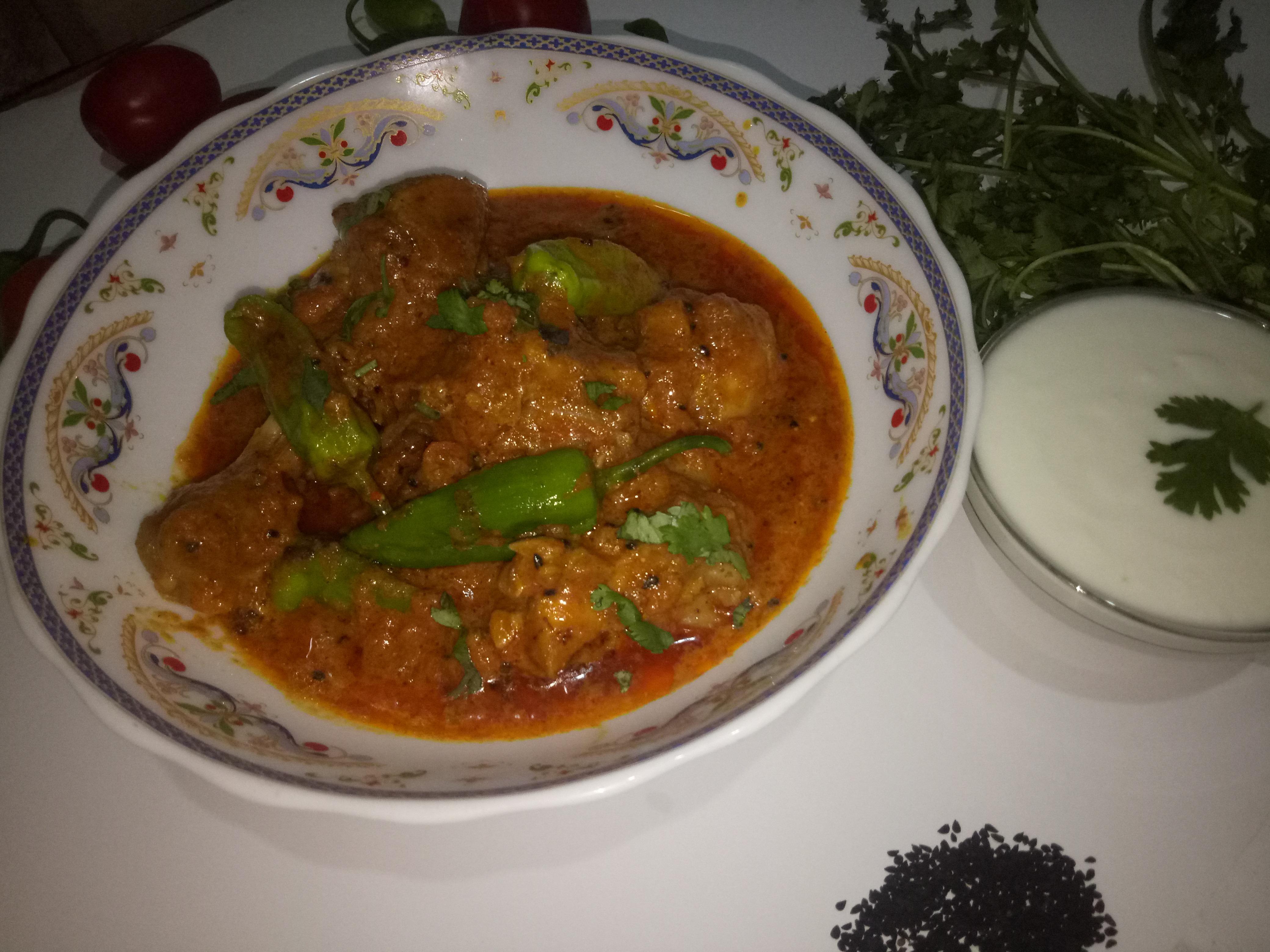 Delicious Achari Chicken Curry Pakistani Food Recipe