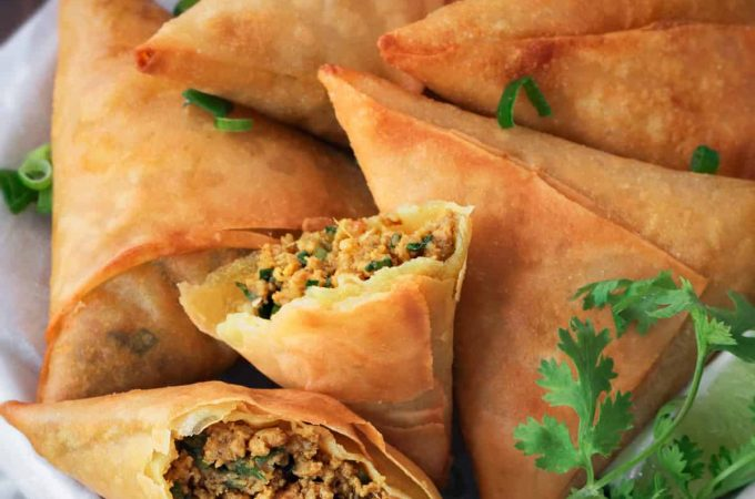 Easy & Tasty Keema Samosa Pakistani Food Recipe