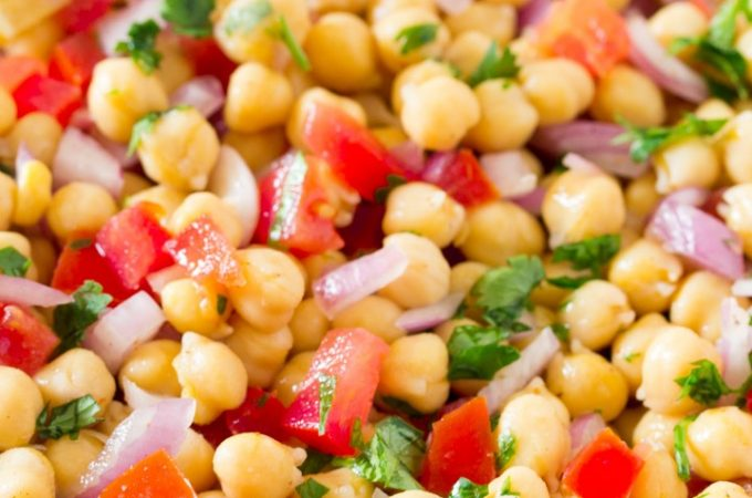 Easy Chana Chaat Pakistani Food Recipe