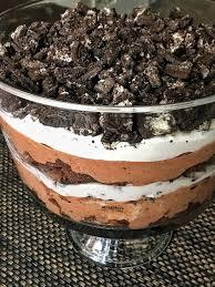 Easy & Delicious Oreo Brownie Trifle Pakistani Food Recipe