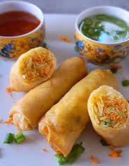 Tasty Vegetables Roll Pakistani Food Recipe: