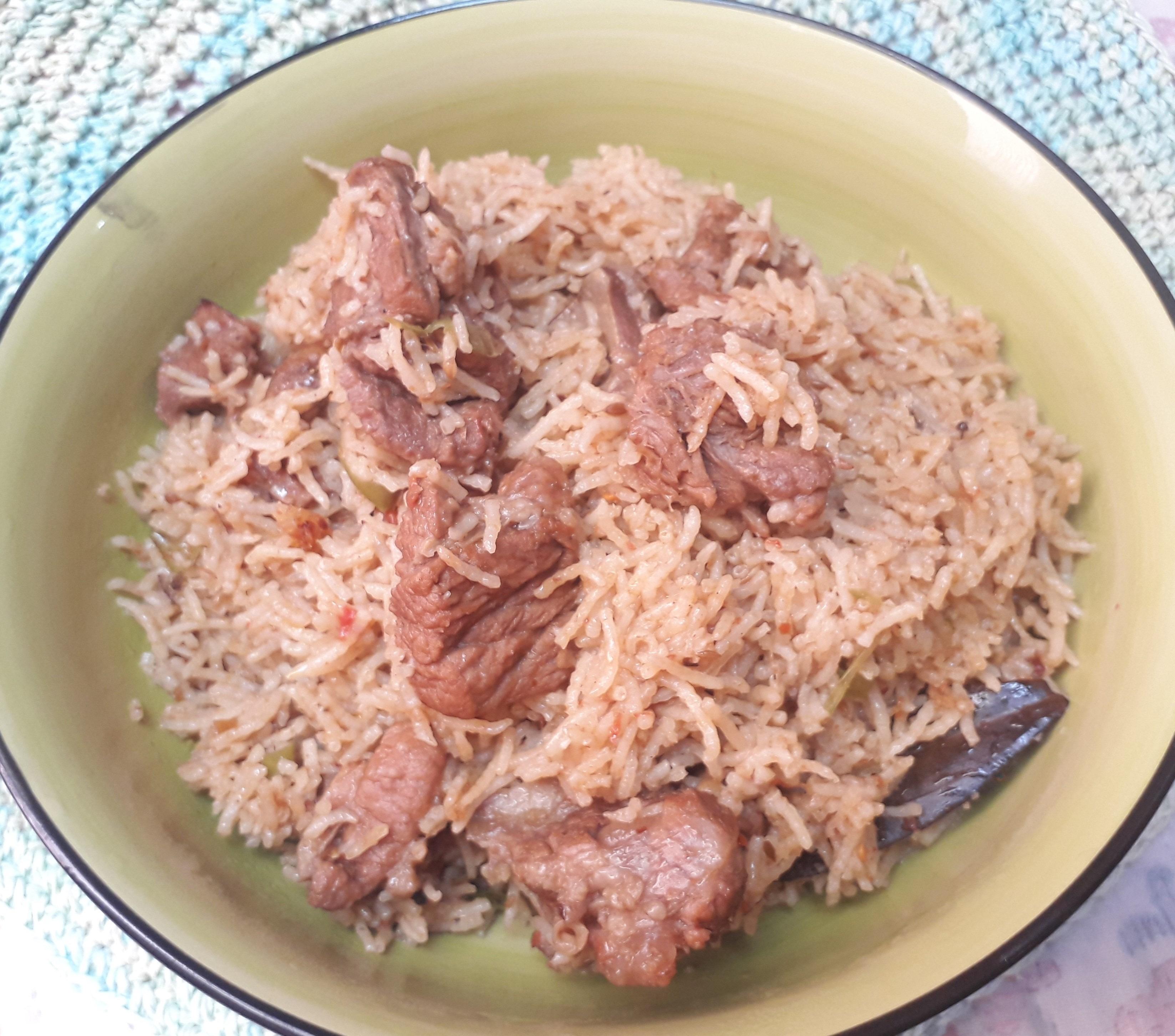 Simple & Tasty Beef Pulao Pakistani Food Recipe